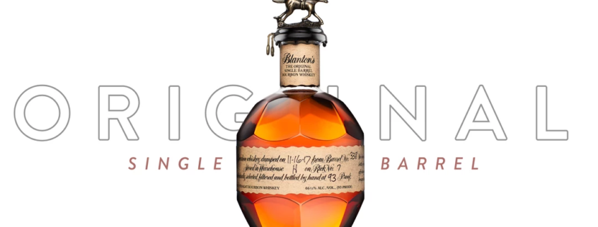 A bottle of Blanton's Bourbon